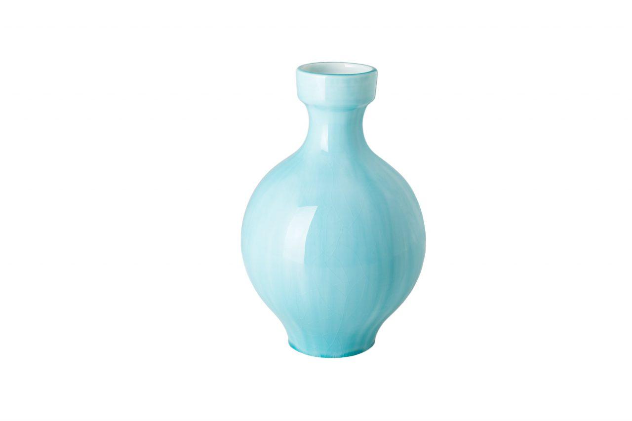 the round vase for krehky